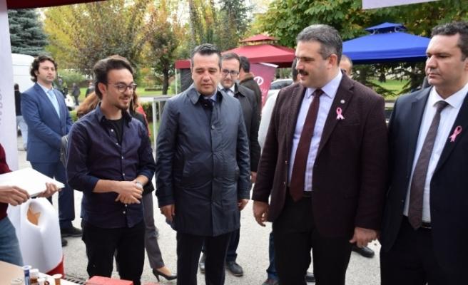 İl Sağlık Müdürlüğünden Anadolu Üniversitesine 'Sağlık Sokağı'