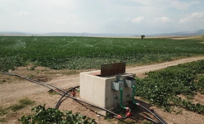 Eskişehir'de 266 bin 928 dekar tarım arazisi sulandı