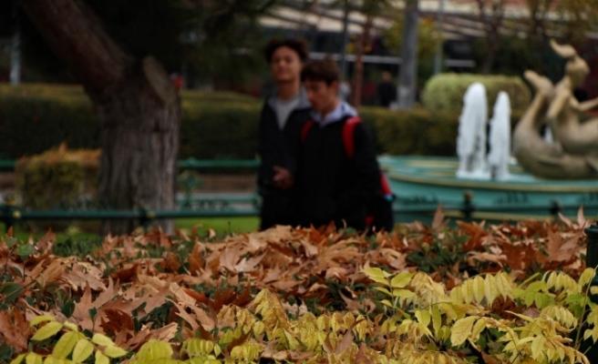 Eskişehir'den hayranlık oluşturan sonbahar manzaraları