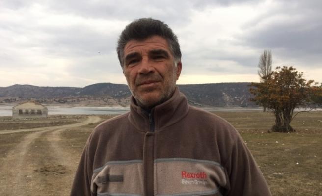 (özel) Köylülerin barajdaki ekmek kaygısı