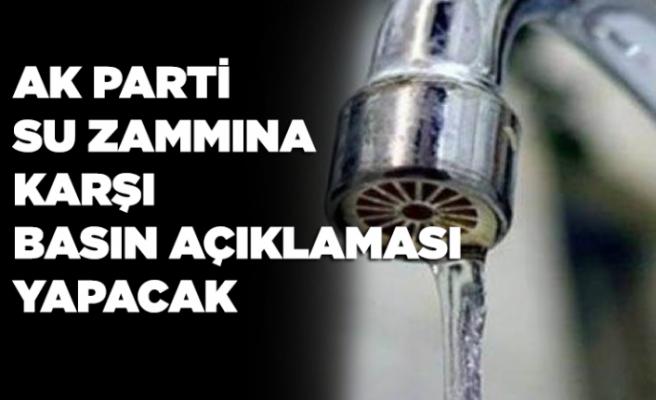 AK Parti'den su zammına karşı açıklama