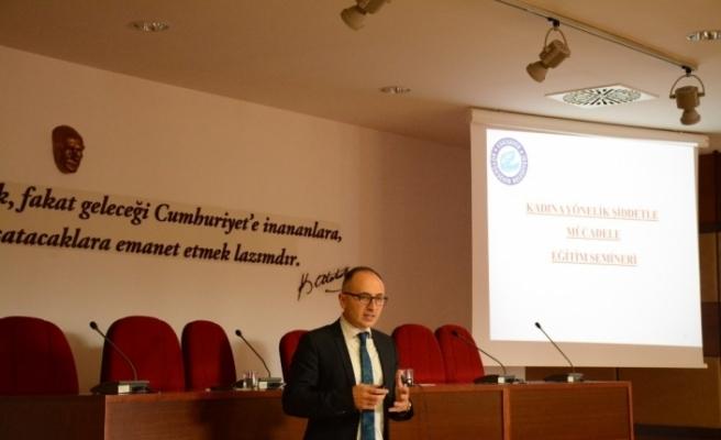 """Anadolu Üniversitesi'nde """"Kadına Yönelik Şiddetle Mücadele Eğitim Semineri"""""""