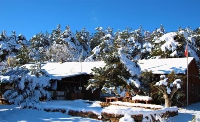 Kar sonrası Eskişehir manzarası