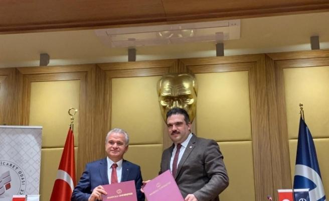 Anadolu Üniversitesi ile ETO arasında işbirliği protokolü