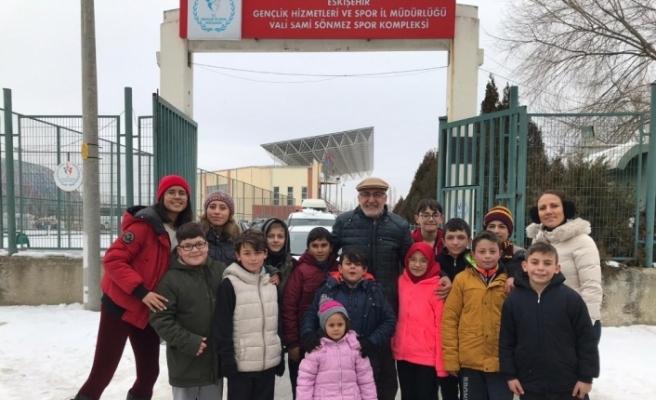 İnönü Belediyesi Gençlik ve Spor Kulübü Oryantiring Takımı il şampiyonasında