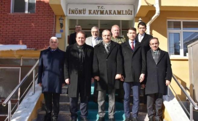 THK Genel Başkanı Aşçı, İnönü'yü ziyaret etti