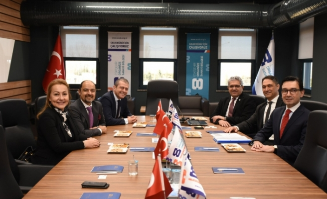 Akbank Genel Müdürü Binbaşgil'den EOSB'ye ziyaret