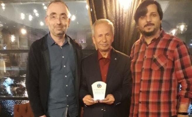 Emekli olan Eskişehir Tayfur Bayar Anadolu Lisesi Müdürü Karakaya'ya veda töreni düzenledi
