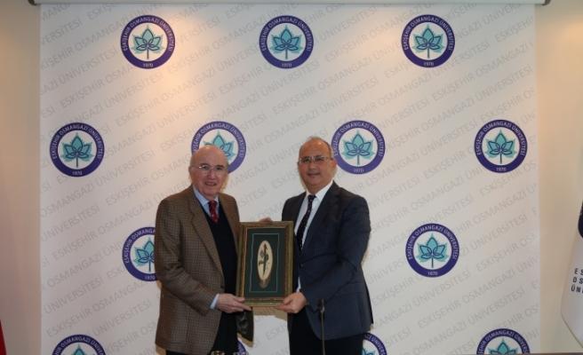 Meksika'nın Ankara Büyükelçisi José Luis Martinez y Hernandez'den ESOGÜ'ye ziyaret
