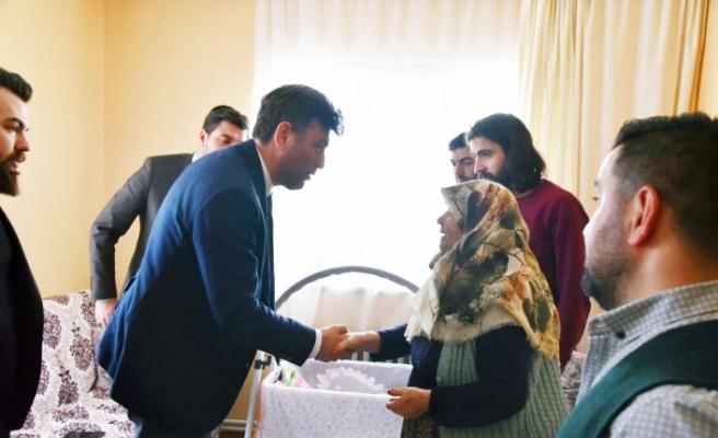 Başkan Çalışkan'dan İdlib Gazisi'ne ziyaret