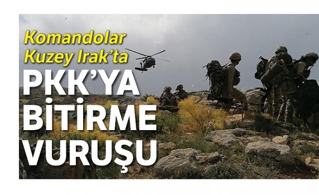 PKK'nın lojistik yolları felç edildi