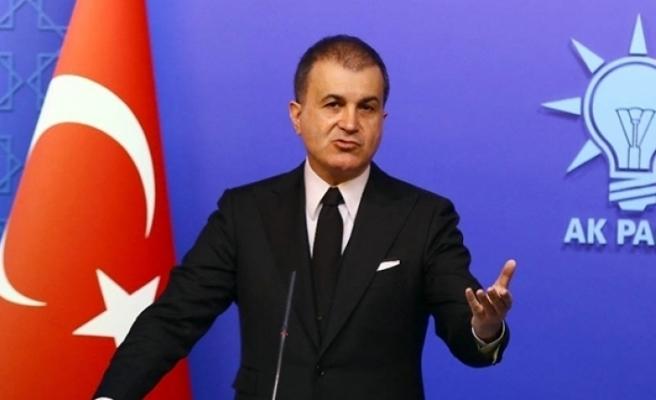 AK Parti Sözcüsü Çelik: 'Yunanistan'da şanlı bayrağımızın yakılmasını şiddetle lanetliyoruz'