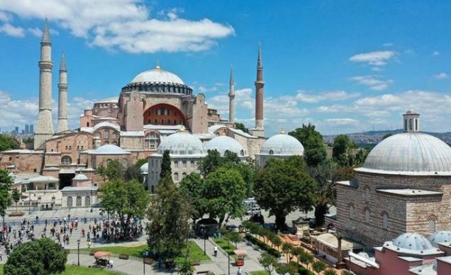 Ayasofya'da görev yapacak imam ve müezzinler belli oldu