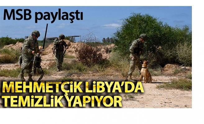 Darbeci Hafter'in sivil yerleşim yerlerine tuzakladığı mayın ve EYP'ler temizleniyor