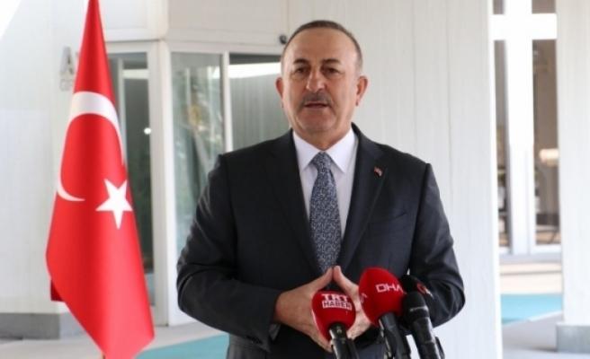 Dışişleri Bakanı Çavuşoğlu: 'Her zaman KKTC'nin yanındayız'