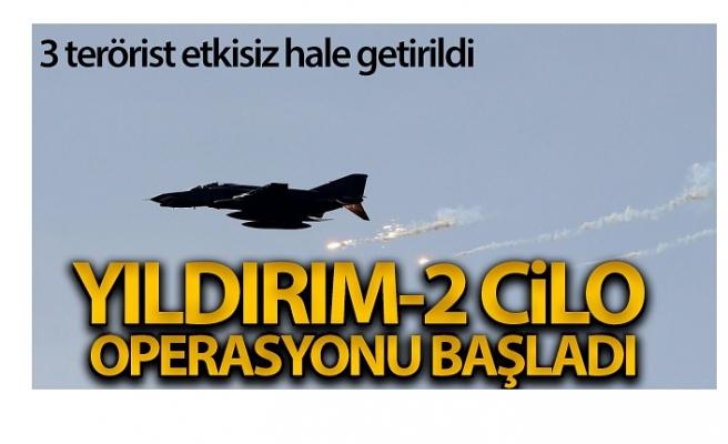'Yıldırım-2 Cilo' operasyonu başladı: 3 terörist etkisiz hale getirildi