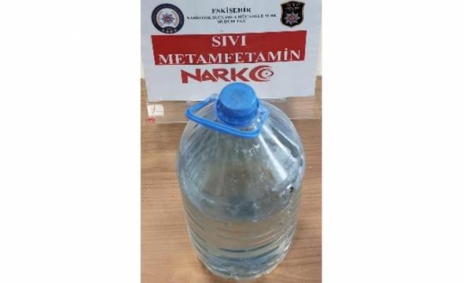 Bu uyuşturucu madde Eskişehir'de ilk defa ele geçirildi
