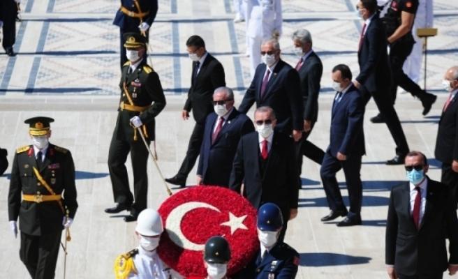 """Cumhurbaşkanı Erdoğan: """"Türkiye, bilhassa Doğu Akdeniz'de tehdit, yıldırma ve şantaj diline boyun eğmeyecek"""""""