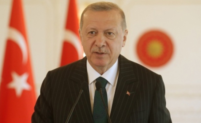 Erdoğan: '30 Ağustos zaferiyle bu toprakların ebedi vatanımız olduğu bir kez daha ilan edilmiştir'