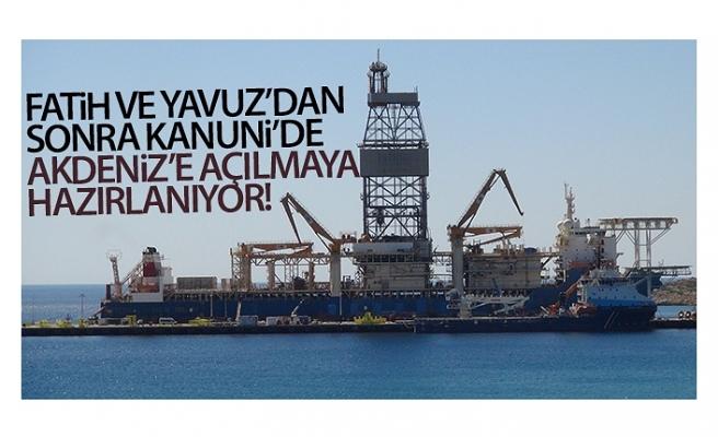 Fatih ve Yavuz'dan sonra Kanuni de Akdeniz'e açılmaya hazırlanıyor