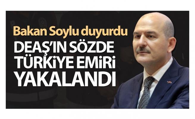 DEAŞ'ın sözde Türkiye emiri yakalandı ve tutuklandı