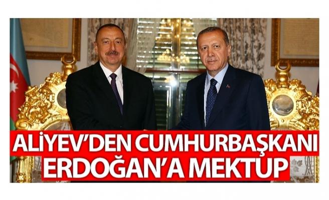 Azerbaycan Cumhurbaşkanı Aliyev'den Cumhurbaşkanı Erdoğan'a mektup