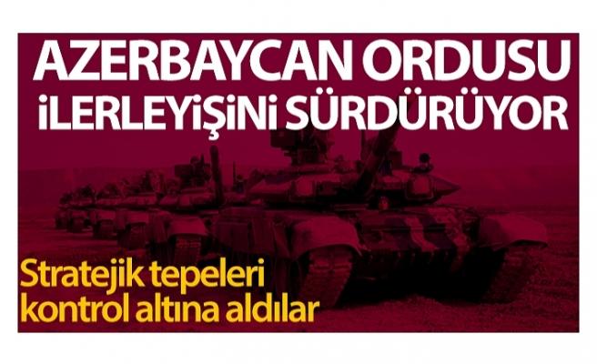 Azerbaycan ordusu, Madagiz çevresinde stratejik tepeleri kontrol altına aldı