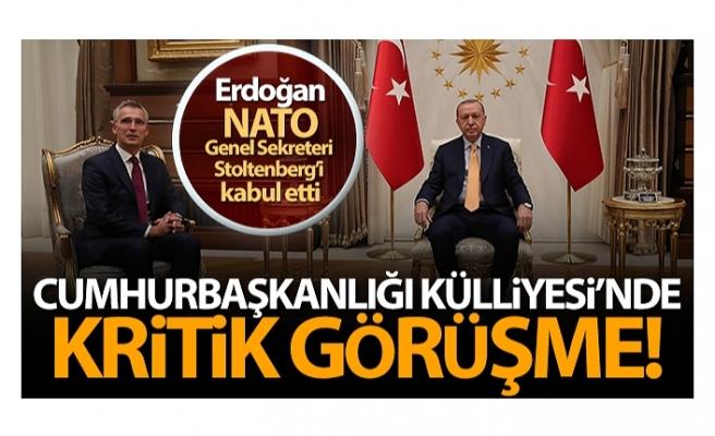 Cumhurbaşkanı Erdoğan'ın Stoltenberg ile görüşmesinde 'somut dayanışma' vurgusu