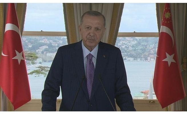 Başkan Erdoğan'dan Türkmenistan mesajı