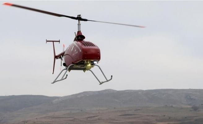Bu da insansız helikopter