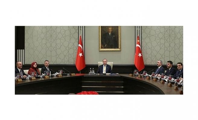 Cumhurbaşkanı Kabinesi toplandı