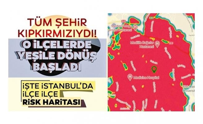 İstanbul'da koronavirüs vakaları yüzde 25 düştü