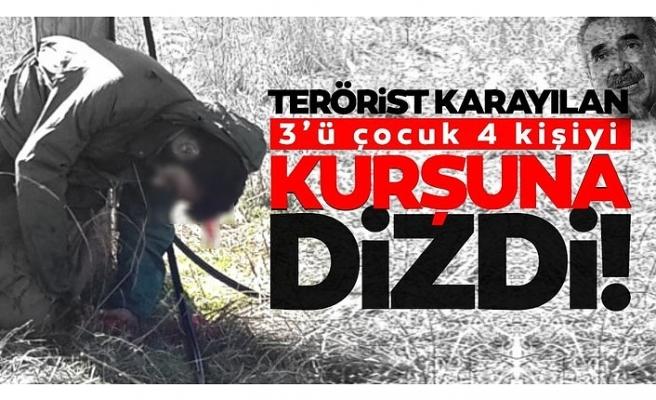 Murat Karayılan 4 çocuğu infaz edip timsah gözyaşı döktü