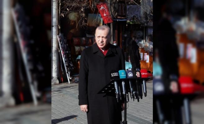 Başkan Erdoğan'dan açıklamalar