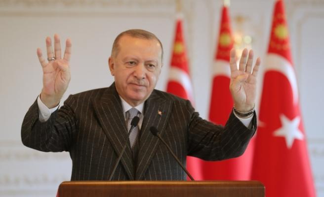 Başkan Erdoğan'dan yerli koronavirüs aşısı açıklaması