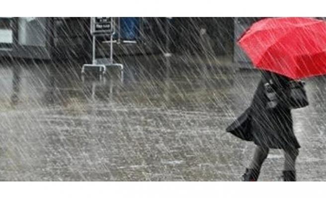 Yeni yılın ilk gününde kuvvetli yağış