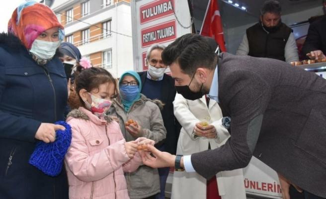 AK Parti Tepebaşı İlçe Başkanlığı Berat Kandili'ni kutladı