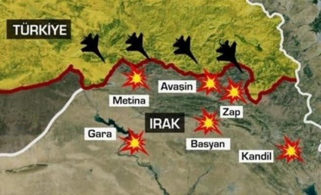 Kara harekatı başladı, özel kuvvetler bölgede