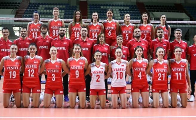 A Milli Kadın Voleybol Takımı'nın, Avrupa Şampiyonası rakipleri belli oldu