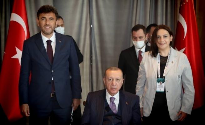 Başkan Çalışkan Cumhurbaşkanı Recep Tayyip Erdoğan'ı Eskişehir'e davet etti