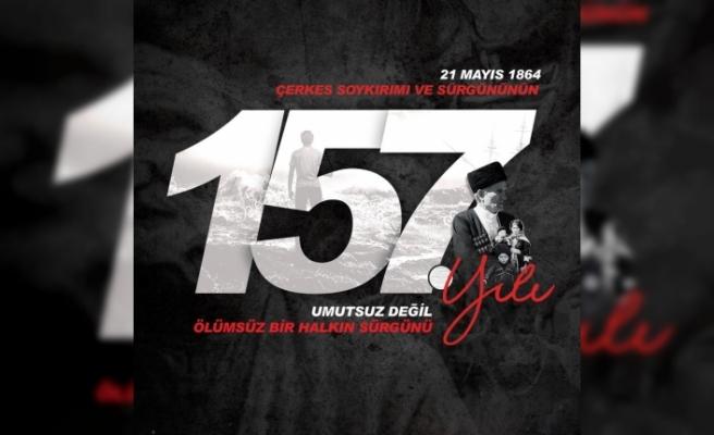 Çerkez Soykırımı'nın 157. yılı