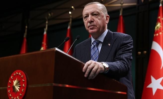 Cumhurbaşkanı Erdoğan yeni alınan kararları açıkladı