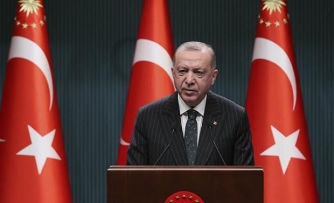 Erdoğan, esnaf için yeni hibe destek programını açıkladı