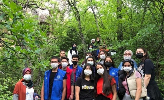 Gençlik Haftası etkinlikleri doğa yürüyüşü ile devam etti