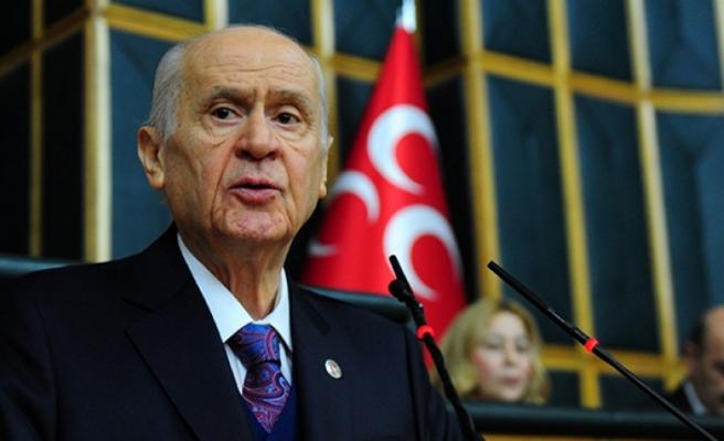 """MHP Genel Başkanı Bahçeli; İçişleri Bakanı Soylu, yalnız değildir"""""""