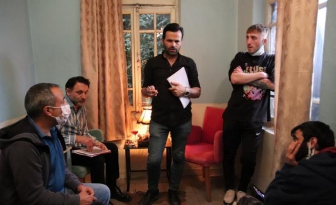 'Pigment' sinema filminin çekimleri Eskişehir'de gerçekleştiriliyor