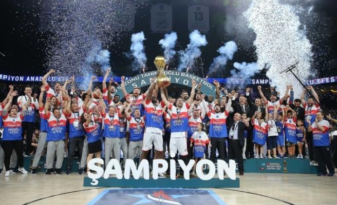 2020-2021 Basketbol Süper Ligi şampiyonu Anadolu Efes oldu