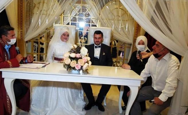 AK Parti Odunpazarı Kadın Kolları, Ertekin Ailesinin Düğününde Bir Araya Geldi..