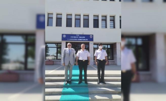 Başkan Bozkurt'tan İl Jandarma Komutanı Atasoy'a ziyaret