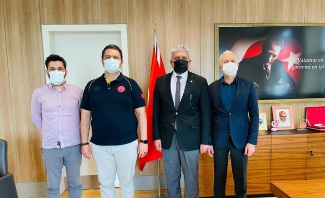 """Başkan Küpeli: """"Sağlık çalışanlarına minnet borçluyuz"""""""